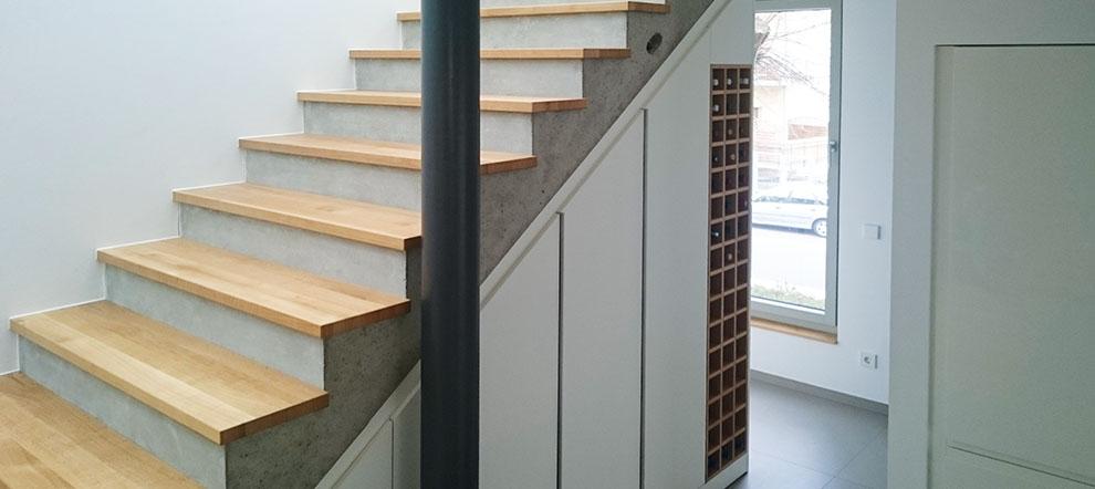 Massivbau Treppe